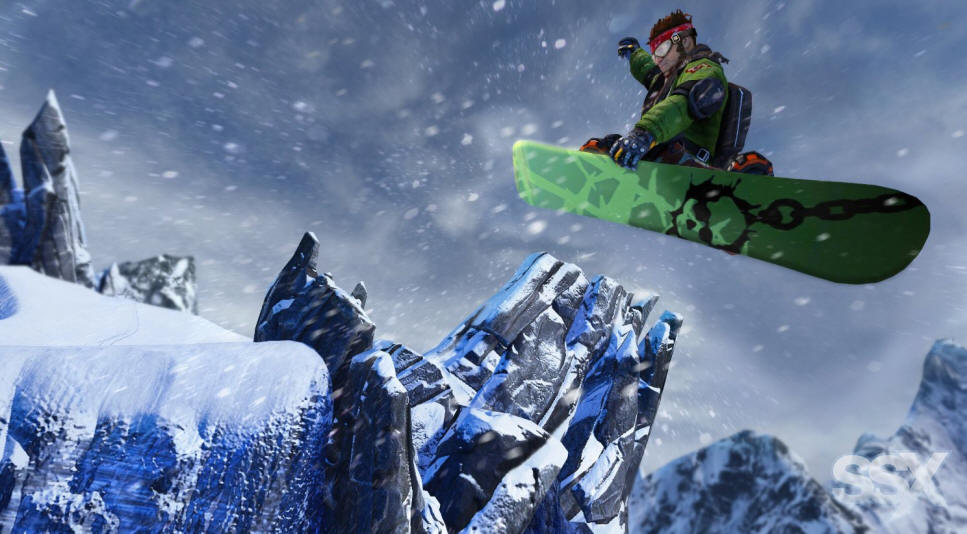 SSX for PS3 Screenshot